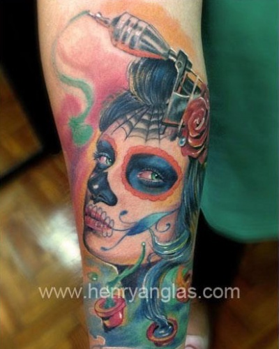 Full Color Tattoo henry-anglas
