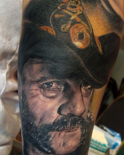 Retrato Tattoo henry-anglas